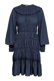 Gathered Midi Dress