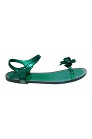 Pre-owned Jelly Camelia  Thong Flat Sandals