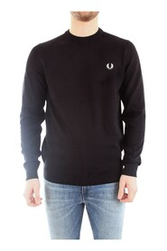 FRED PERRY K5523 JERSEY Men BLACK