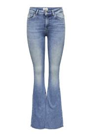 Blush Mid Retro Jeans