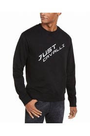 Sweater Crewneck Logo Front Pullover
