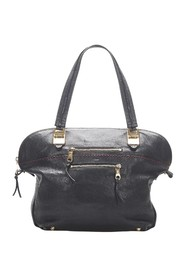 Angie Leather Tote Bag
