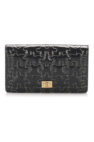 Puzzle 2.55 Patent Leather Long Wallet