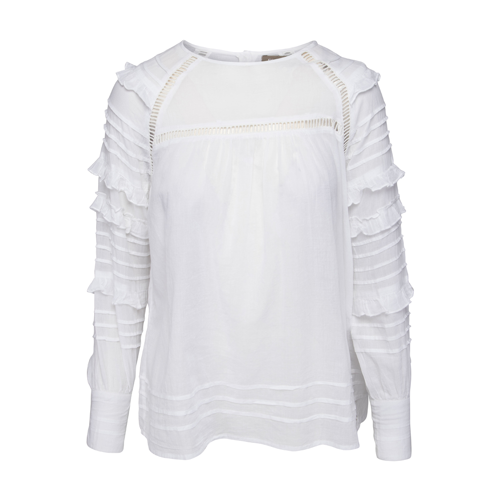 White Plus Fine Nikki Blouse