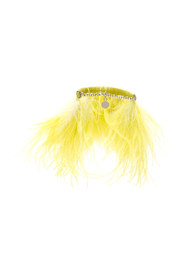 Feathers anklets