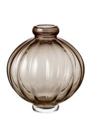 Vase Balloon 1 Smoke Glass