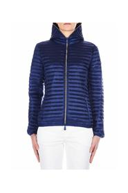 Quilted hooded jacket Iris X