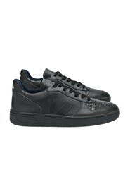 Faux-Leather Sneakers