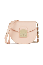 Metropolis mini crossbody round bag