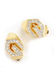 Chrystal clip on earrings
