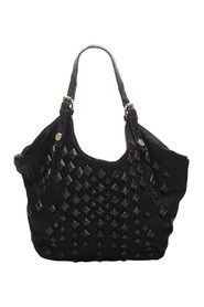 New Sacca Studded Nylon Shoulder Bag