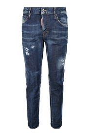 Perfecto Blue Wash Cool Girl Jeans