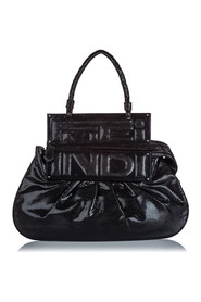 Embossed Leather To You Convertible Shoulder Bag