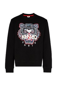 tiger embroidery sweatshirt