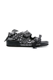 Apache bandana-print sandals