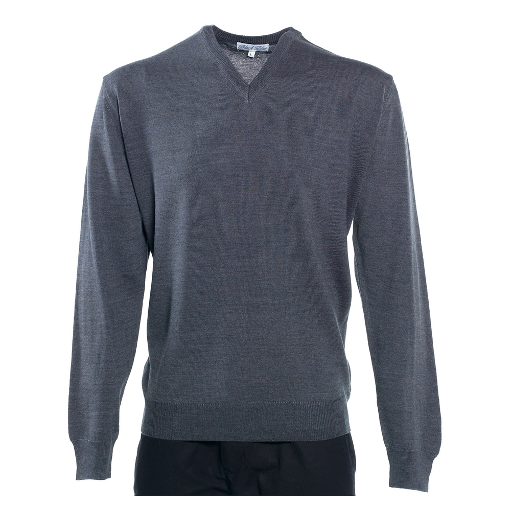 Sort blå Merino Sweater