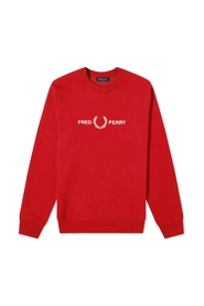 Authentic Embroidered Logo Crew Sweat