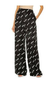 Camouflage Logo-Print Trousers