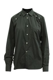 Shirt with Silver Buckles