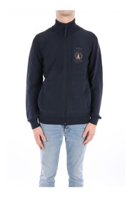 High Neck  Men Navy