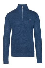 Pique Half Zip Sweater