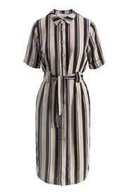 Navy With Stripes Camilla Pihl Gili Shirtdress Dresses