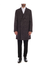 Wool cashmere and linen coat C1501P BCP204 0491