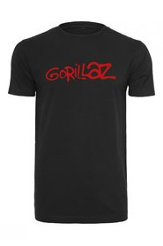 Gorillaz Logo, T-Shirt | Sort