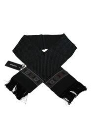 Baroque Tassel Silk Scarf