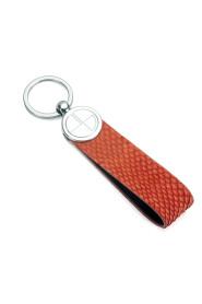 Nøkkelring med mikrokort lomme