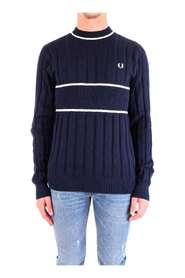 FRED PERRY K5509 JERSEY Men DEEP CARBON
