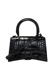 Hourglass shoulder bag