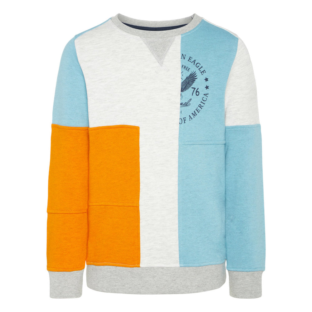 Sweatshirt colourblocking