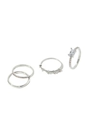 4X Sparkle Stac Ring