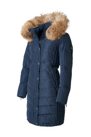 EVELYN FAUX FUR down jacket
