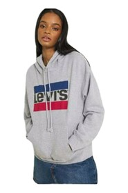 18487 0059 GRAPHIC HOODIE SWEATER