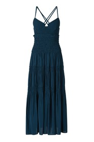 Ruched Bustier Dress