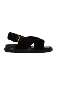 Sandals with Buckle Straps