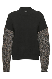 DHCal Knit Sleeve Pullover