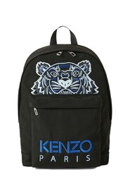Embroidered Canvas Tiger Backpack