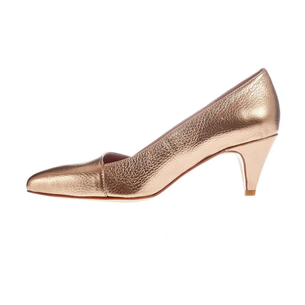 Mentor ROSE GOLD Make the style in leather Mentor