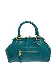 Quilted Leather Stam Satchel