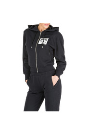 women's sweatshirt zip up Teddy Bear Label
