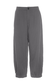 LIN TENCEL PANTS WITH ELASTIC