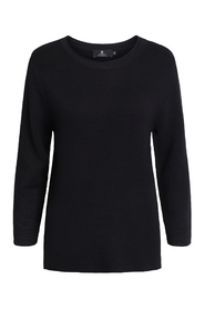 Pullover with zipper in side