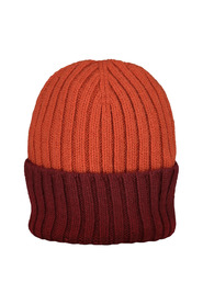 Ribbed Orange Hat