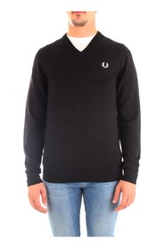 FRED PERRY K7600 JERSEY Men BLACK