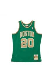 CANOTTA BASKET NBA SWINGMAN JERSEY HARDWOOD CLASSICS N20 RAY ALLEN 2007-08 BOSCEL
