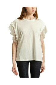 Dunes t-shirt with lace