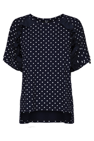 Dotted jersey t-shirt
